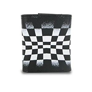 Generic Trifold Black and White Checkerboard Wallet (Catalog Category: General Merchandise / General Merchandise)