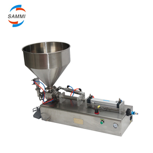 Semi-Automatic Piston Pneumatic face mask packaging machine/penis liquid soap filler