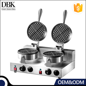 DBK Commercial Industrial Stainless steel automatic egg waffle maker for sale