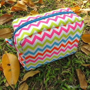 Chevron Makeup Bag Wholesale 02954adab7b50