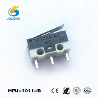 MPU-1011-B 1a 250vac mini zippy Mouse micro switch with 3 pin, 10t85 micro switch
