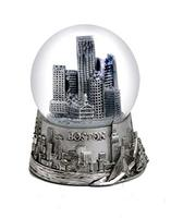 Custom made American souvenir snow globes for New York and Boston