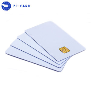 16 Years Guangzhou Direct Factory Contact Chip SLE4442 SLE4428 RFID Blank Card