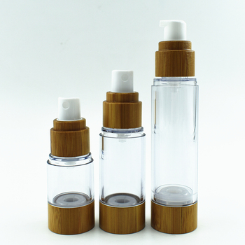 cosmetic AS Airless pump lotion bottle Plastic bottle for essential oil