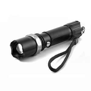 Aluminum Material Rechargeable lithium ion 18650 Battery Long Distance Swat Police Led Flashlight