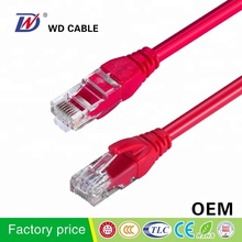 WD <span class=keywords><strong>CE</strong></span> RoHS 표준 <span class=keywords><strong>UTP</strong></span> cat5e RJ45 100m 패치 케이블