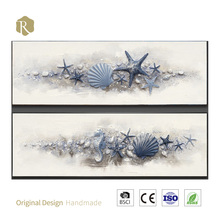 3d art resin and paint marine life oil painting china home decor wholesale brand