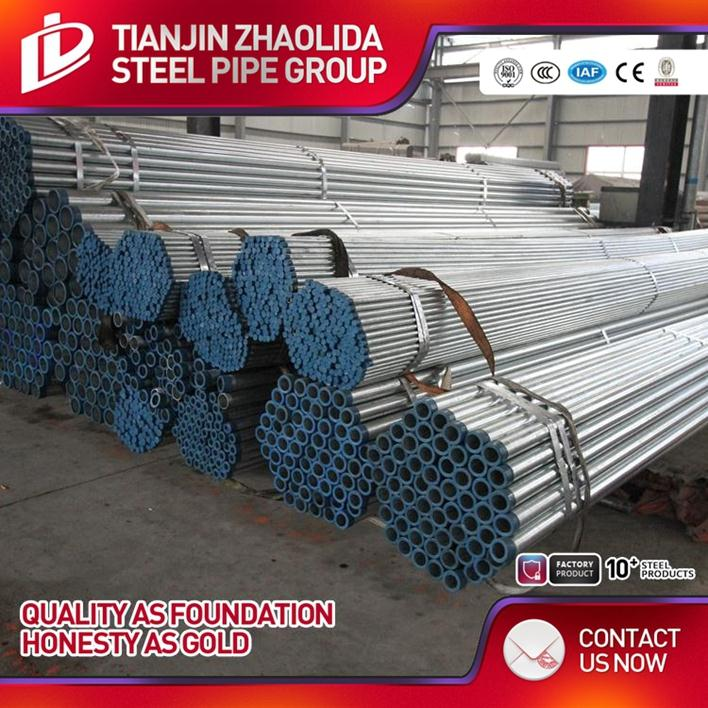 SS400 ERW schedule 30 hot dipped pipe bending steel pipes galvanized tube with CE certificate