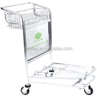 portable luggage cart/ rolling luggage cart / small luggage cart