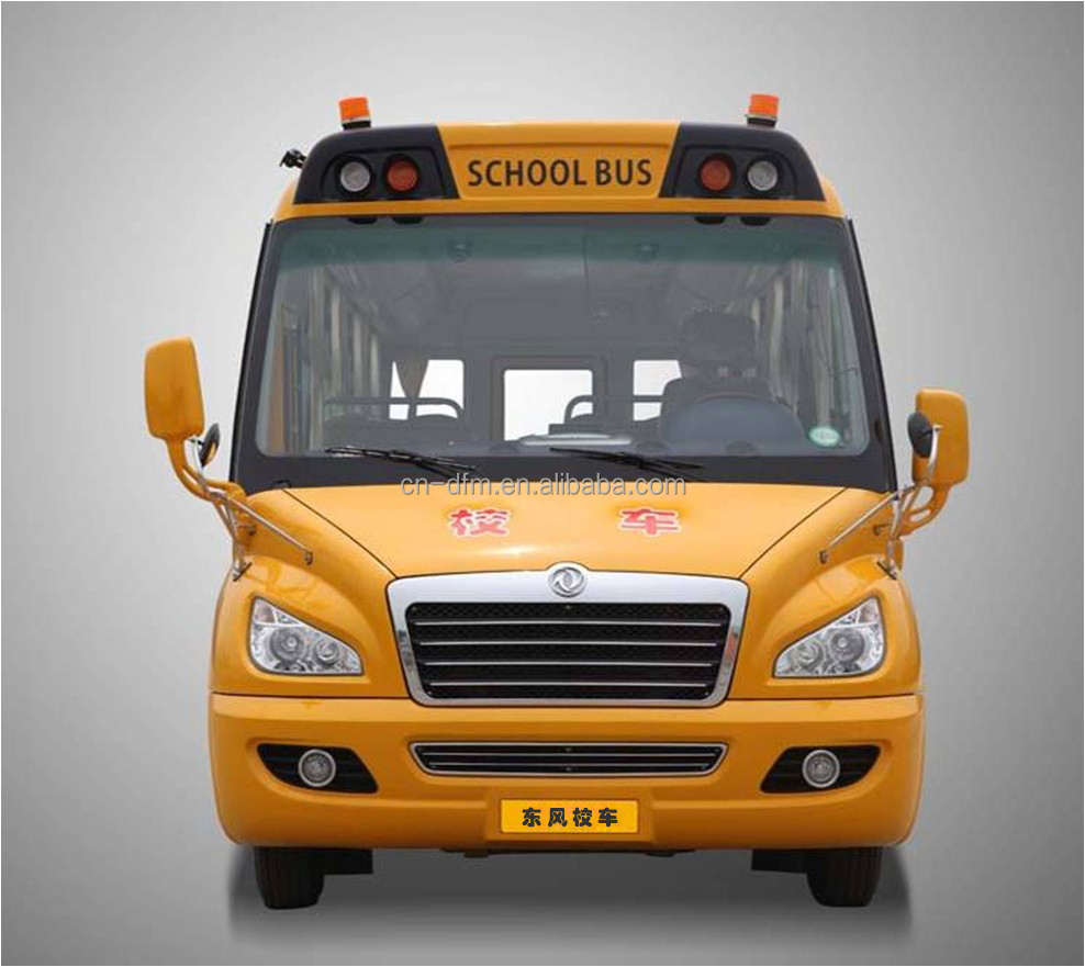 factory HOT design Dongfeng school bus for sale EQ6750 hot in Algeria Market