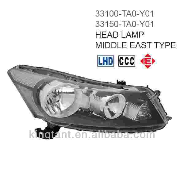 HEAD LAMP FOR HONDA ACCORD 2008-ON MIDDLE EAST TYPE