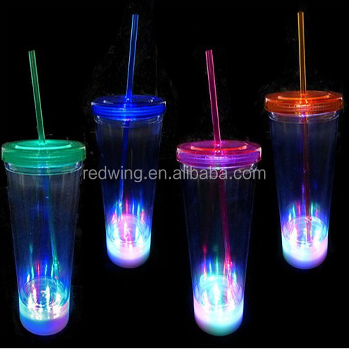 LED Plastic Tumbler Cup For Sale