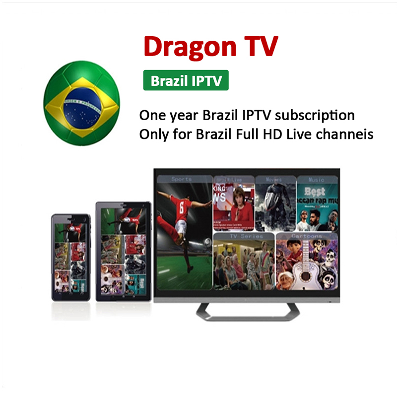 Usa/uk/arbic Channels List Evdtv Iptv Account Panel Iptv Box Subscription  12month Iptv Brasil With Free Test Code - Buy Iptv Brasil,Iptv -
