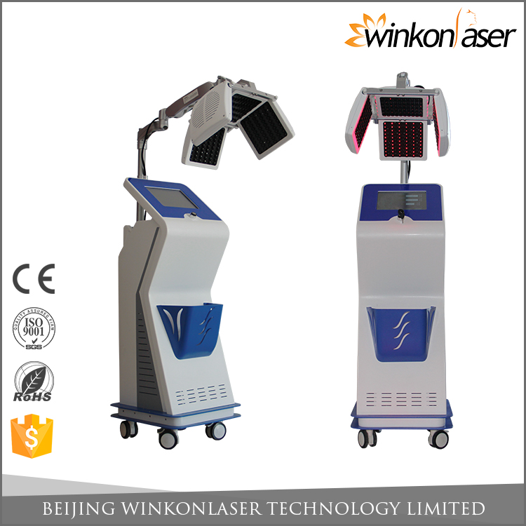 2017 most professional 1 year warranty 670 nm laser hair regrowth machine