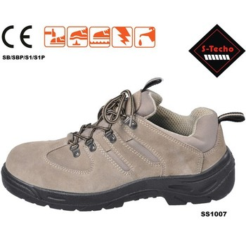 Hot Woodland Safety Shoes Export To Italy With Suede Leather