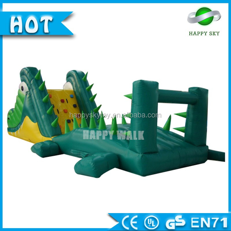 Very Funny Giant Floating Inflatable Water Obstacle Course, inflatable obstacle for amusement park, obstacle course tunnel games