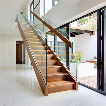 Stainless Steel Solid Wood Railing Balustrade Staircase Glass Railing Designs Picture Of Handrail For Stair Buy Staircase Glass Railing Solid Wood