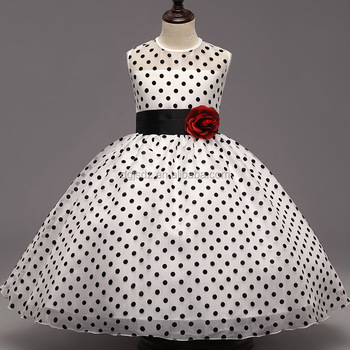 Baby Frock Design Pictures Fancy Baby Girls Dot Dress Girls Party