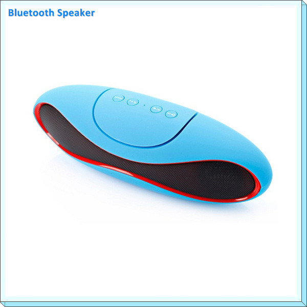 Portable laptop speaker With FM Radio Phone Laptop PC Handfree call Rugby Bluetooth Speaker