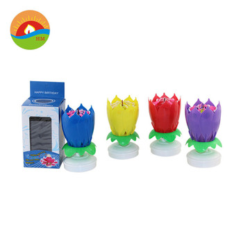 HUAMING various color sprial candles/sprial birthday candle