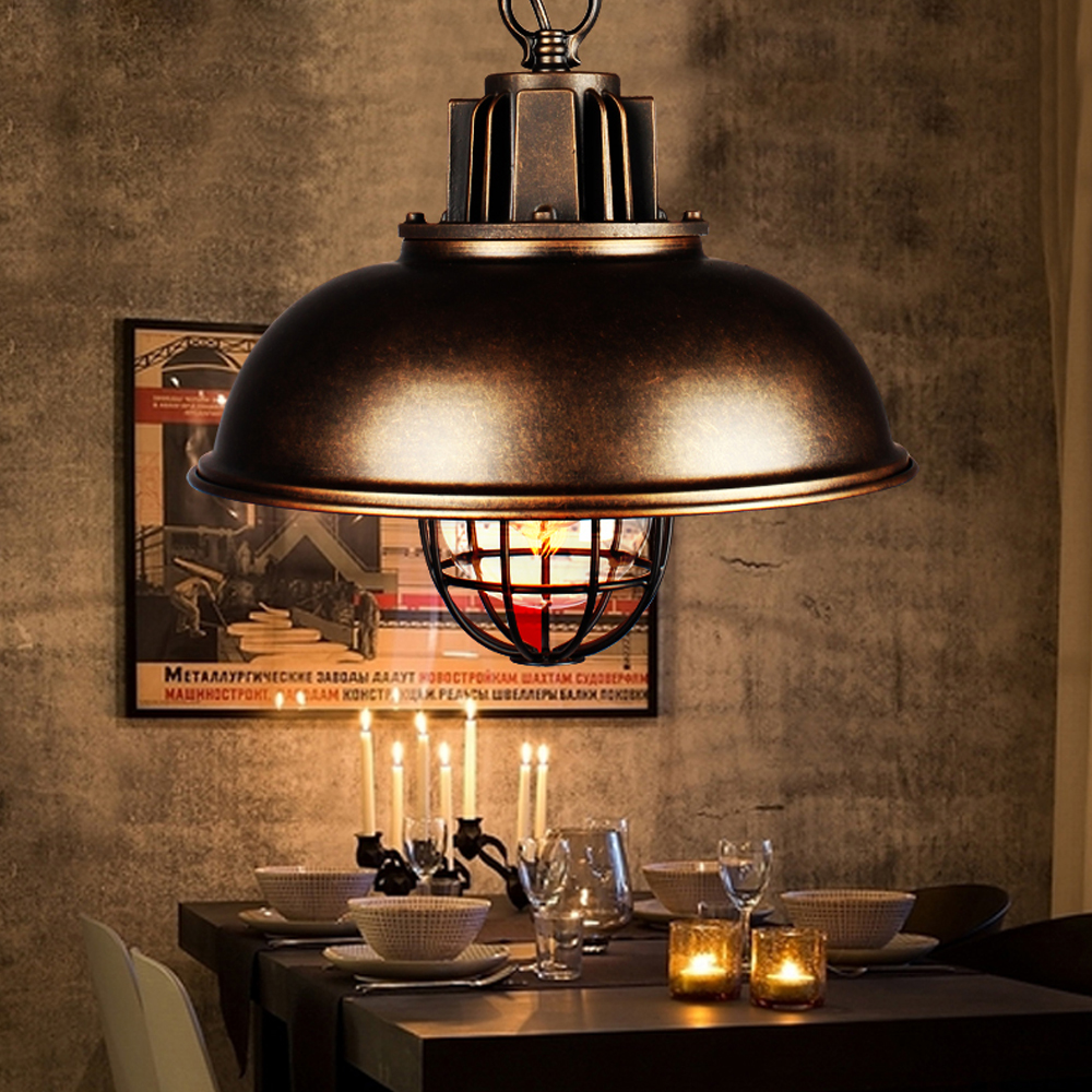 vintage pendentif lampe d 39 clairage moderne industrielle lustre avec ce ul pour loft th me h tel. Black Bedroom Furniture Sets. Home Design Ideas