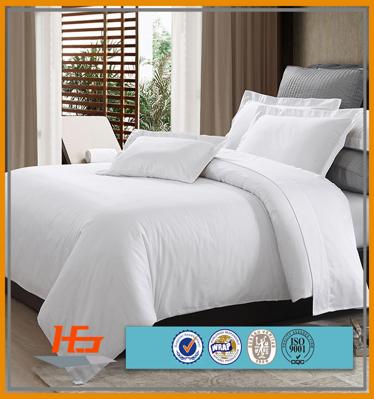 Natural Cotton Single/Double/Queen/King Size Hotel Bedding Sets