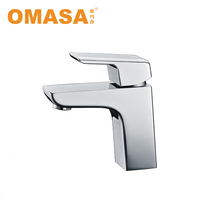 Basin Brass Taps at Faucet Factory Classic Item Square Shape