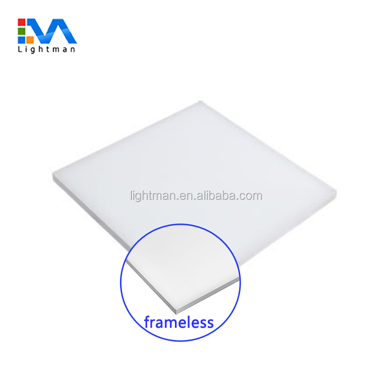 Ce tuv 20 w 40 w 30x30 recessed dimmable frameless 하늘 평면 패널 라이트 60x60