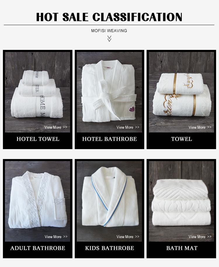 ผู้ใหญ่ผ้าฝ้าย 100% ผ้าของขวัญผ้าขนหนูปัก