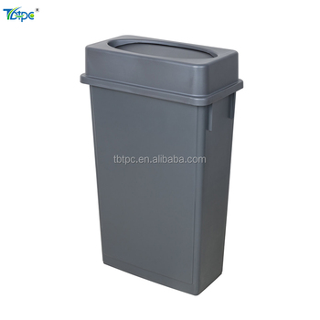 15 Gallon / 23 Gallon Slim Swing Lid Recycling Can