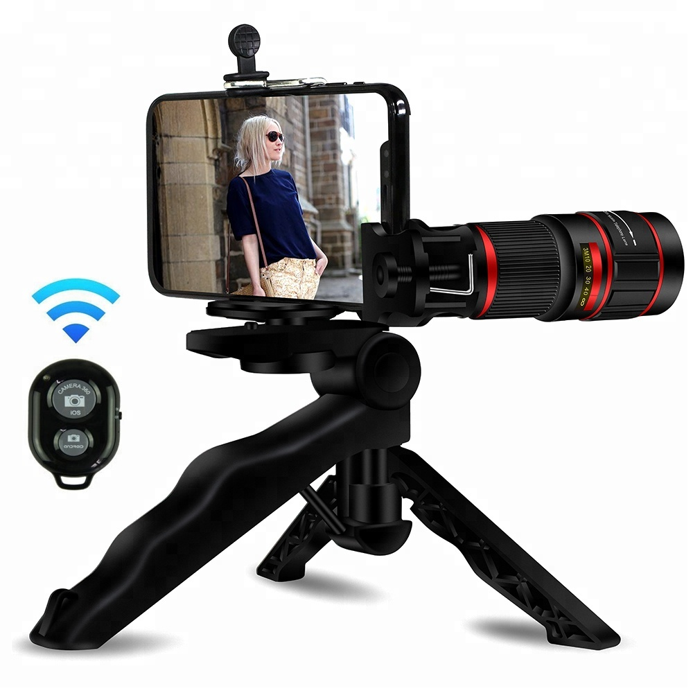 Amazon top seller 2018 accessories 20x zoom telephoto lens for mobile camera lens фото