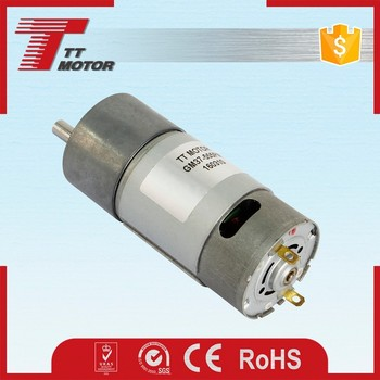 Gm37 555pm Manufacturer Dc Gear Motor Or Micro Dc Motors