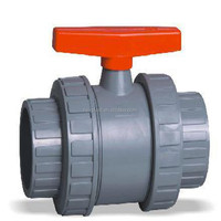 PVC ball union valve/Long handle 4 inch plastic male female union ball valve