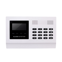 ANKA Wireless Security GSM Alarm System with LCD Display