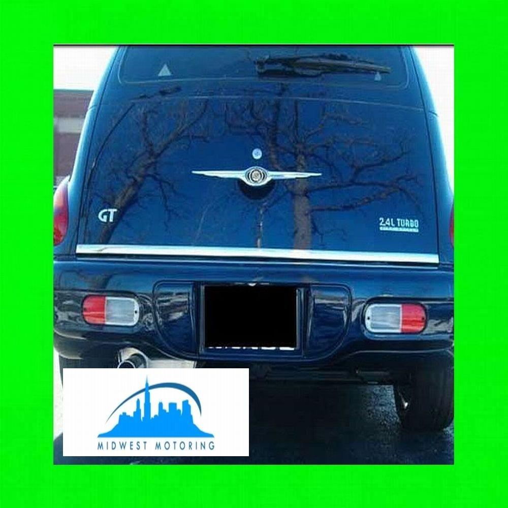2006 2011 chrysler pt cruiser precut chrome tailgate trunk trim molding 2007 2008 2009 2010
