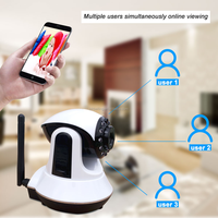 2016 new design intelligent home security gsm alarm system Android/IOS APP control security wifi home alarm system