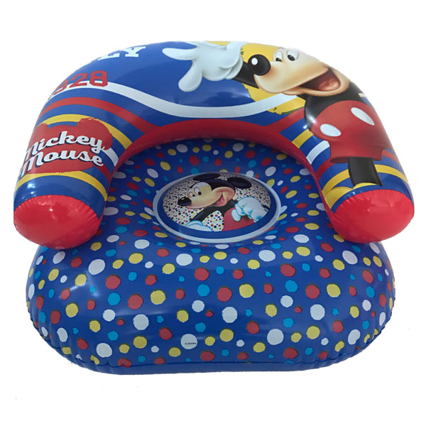 Beauiful Mickey Mouse inflatable chair and sofa for kids