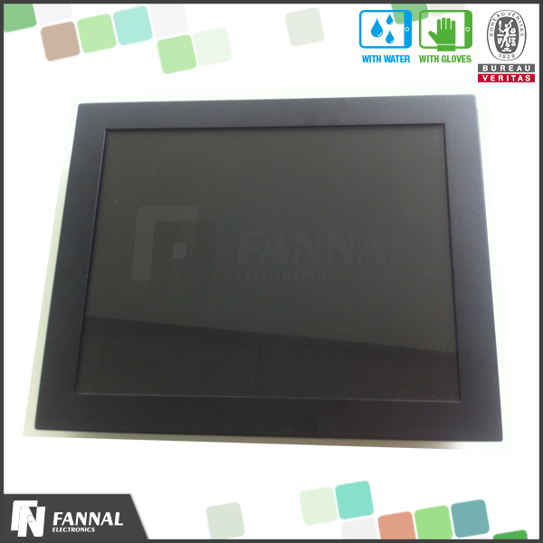 15 inch capacitive lcd touch screen monitor hmi touch screen