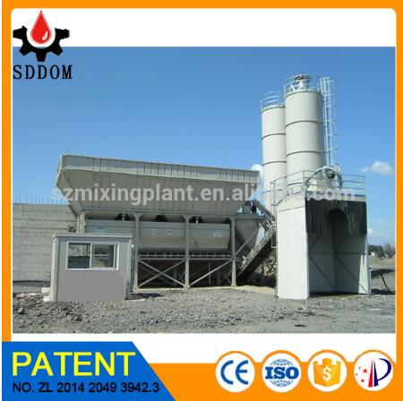 New technology Dry concrete batching plant for sale