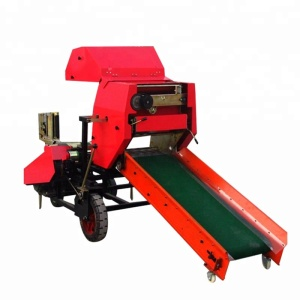 Farm machinery corn silage diesel hay and straw baler machine