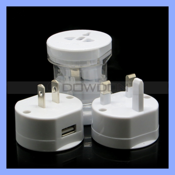 Factory Promotional Price Travel Plug Adaptor 10A 250V Universal Plug for AUS UK EU USA Swiss Plug Adaptor