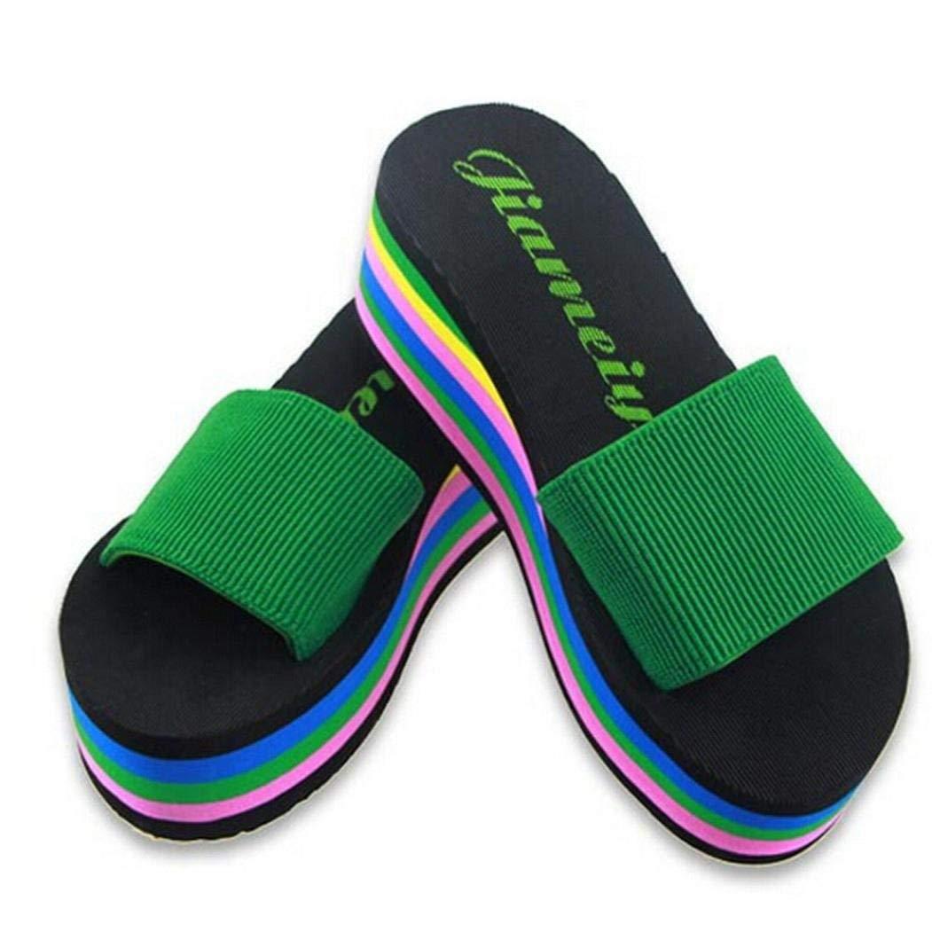 f3dbf905a535 Cheap Cheap Rainbow Flip Flops