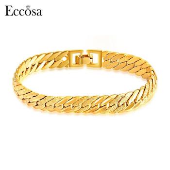 Factory Price 18k Gold Bangle Saudi Arabia Bracelets For Men Designs Stainless Steel Cuff Bracelet