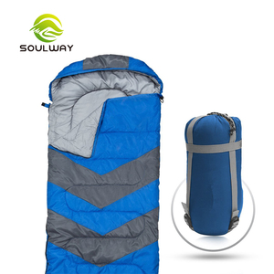 High Quality TravelCamping Hiking Waterproof Portable Envelope Sleeping Bag accept custom color