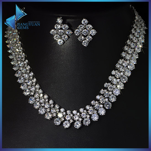 shining big set bridal jewelry set wedding