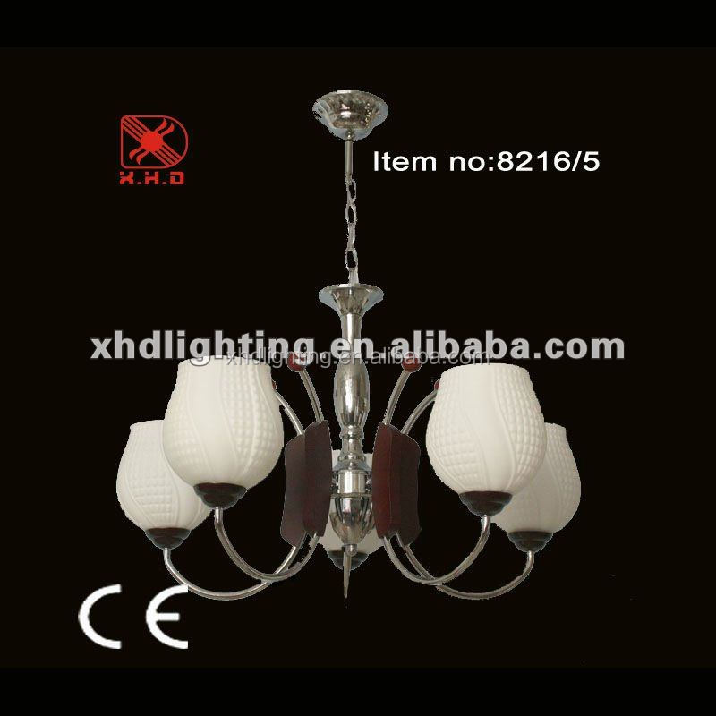 middle east chandeliers & pendant lights 5 bulbs white glass light
