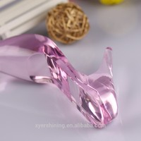 Crystal colorful crystal shoes wedding favors gifts for souvenir