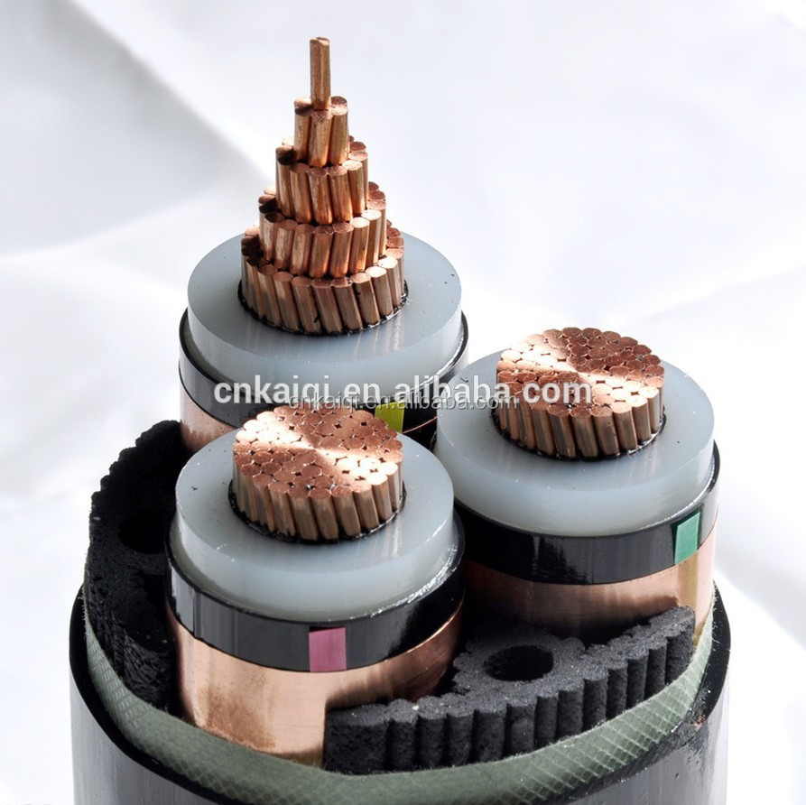 bare or insulated, armored copper or aluminum xlpe power kabel