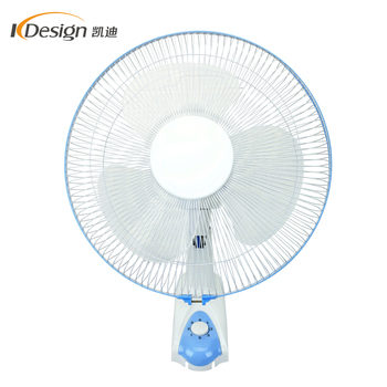 220v Decorative Low Noise Wall Fan 16 Inch Home Pp Material Fans For Bedroom