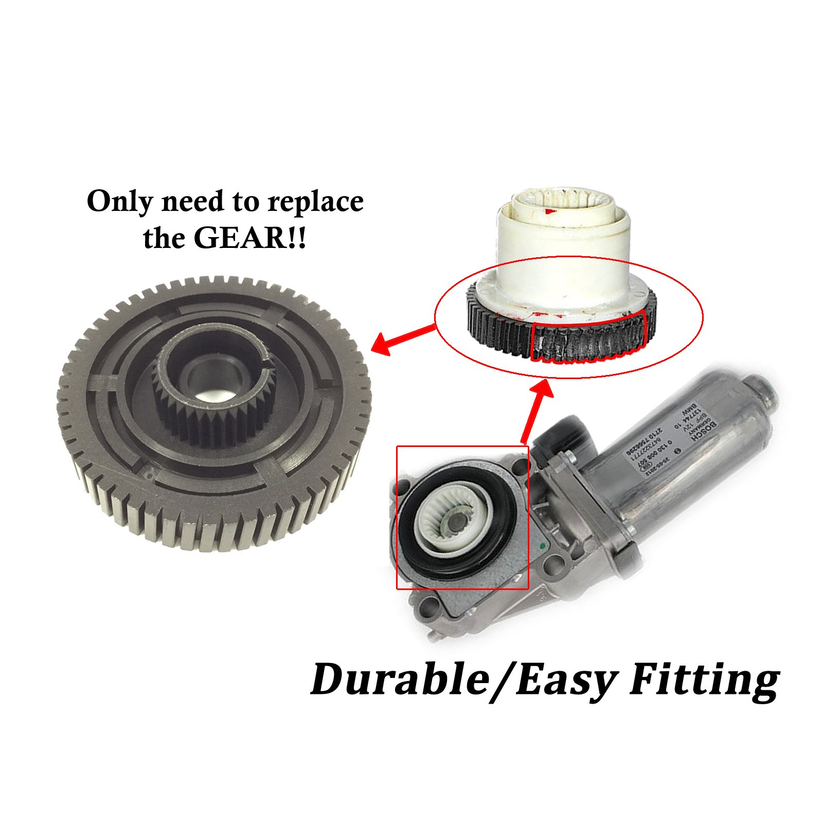 Cheap X3 Transfer Case Find Deals On Line At Chevy 261 Get Quotations Motor Gear For Bmw E53 X5 E83 X6 E71 27107568267